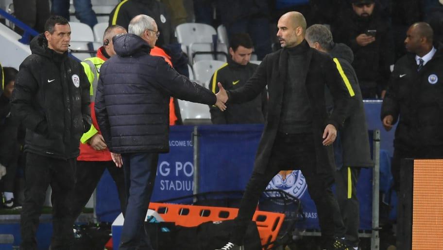 Claudio Ranieri,Josep Guardiola