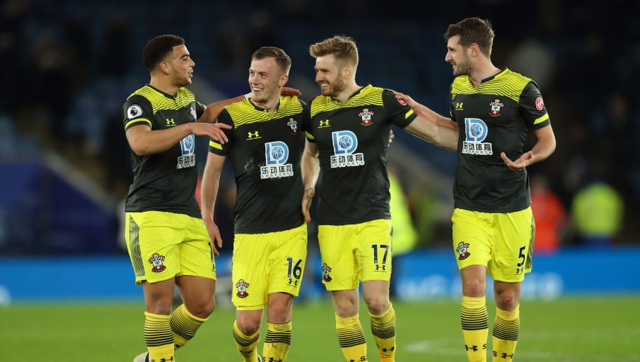 Che Adams, James Ward-Prowse, Stuart Armstrong, Jack Stephens