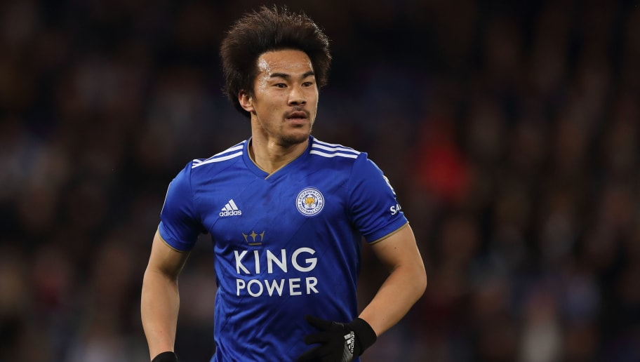 LEICESTER, ENGLAND - DECEMBER 08: Shinji Okazaki of Leicester City during the Premier League match between Leicester City and Tottenham Hotspur at The King Power Stadium on December 8, 2018 in Leicester, United Kingdom. (Photo by James Williamson - AMA/Getty Images)