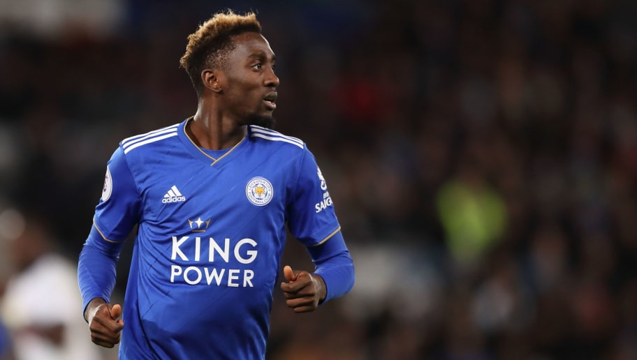 LEICESTER, ENGLAND - DECEMBER 08: Wilfred Ndidi of Leicester City during the Premier League match between Leicester City and Tottenham Hotspur at The King Power Stadium on December 8, 2018 in Leicester, United Kingdom. (Photo by James Williamson - AMA/Getty Images)