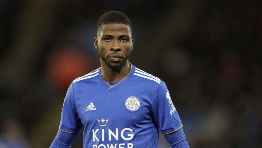 LEICESTER, ENGLAND - DECEMBER 01: Kelechi Iheanacho of Leicester City during the Premier League match between Leicester City and Watford FC at The King Power Stadium on December 01, 2018 in Leicester, United Kingdom. (Photo by Malcolm Couzens/Getty Images)