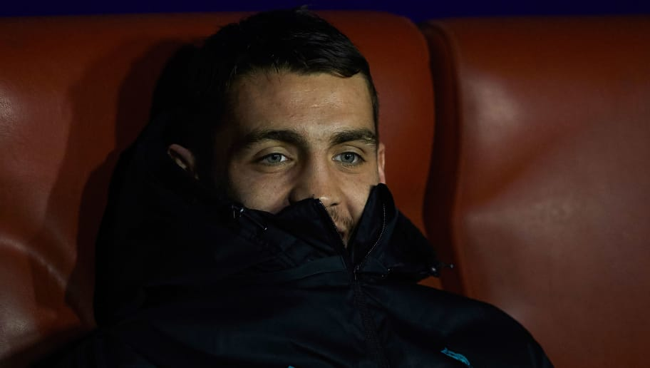 VALENCIA, SPAIN - FEBRUARY 03:  Mateo Kovacic of Real Madrid sits on the bench before the La Liga match between Levante and Real Madrid at Ciutat de Valencia on February 3, 2018 in Valencia, Spain.  (Photo by Manuel Queimadelos Alonso/Getty Images)