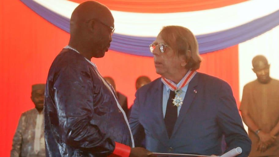 LIBERIA-FBL-POLITICS-AWARD