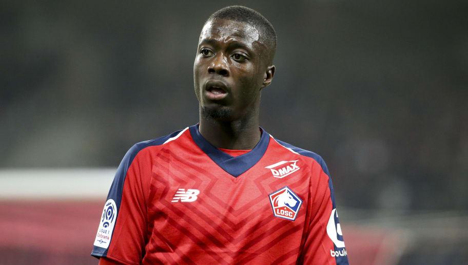 new product e36b7 d0c83 Nicolas Pepe Dismisses Talk of Transfer Until End of Season ...
