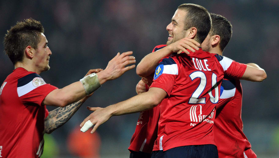 Lille's Belgian midfielder Eden Hazard (