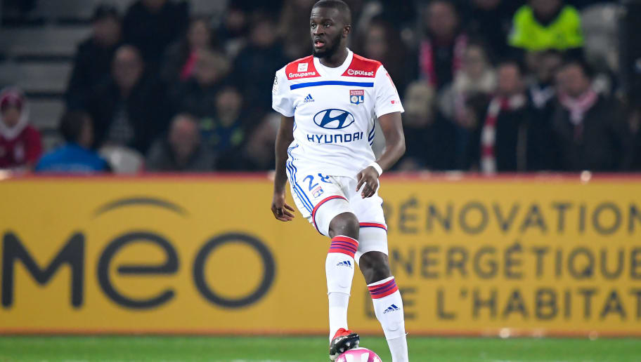 LILLE, FRANCE - DECEMBER 1: Tanguy Ndombele Alvaro of Olympique Lyon  during the French League 1  match between Lille v Olympique Lyon at the Stade Pierre Mauroy on December 1, 2018 in Lille France (Photo by Angelo Blankespoor/Soccrates/Getty Images)