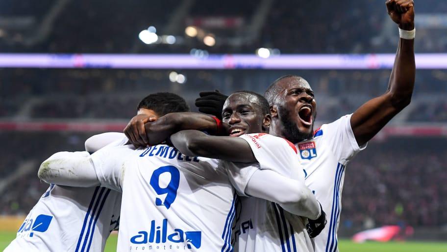 Bertrand Traore,Ferland Mendy,Moussa Dembele,Nabil Fekir