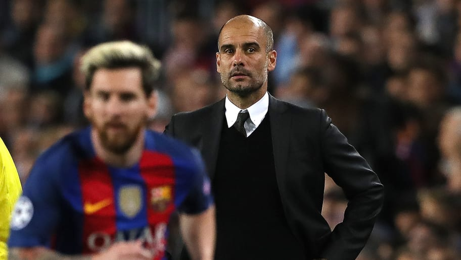 Pep Guardiola,Lionel Messi