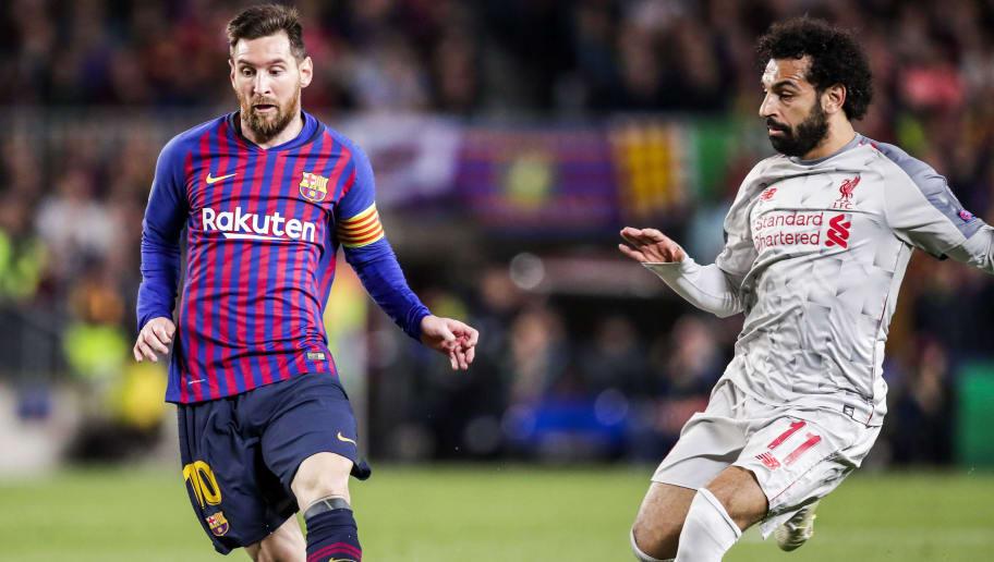 Lionel Messi,Mohamed Salah