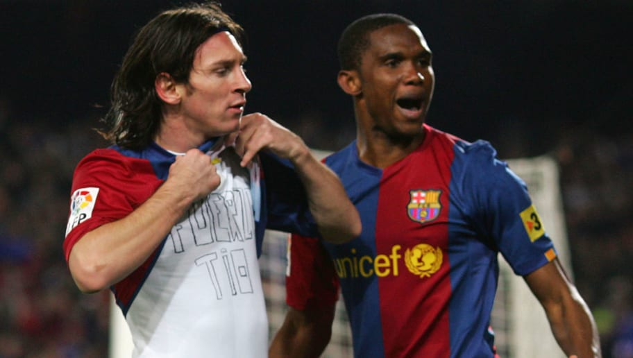 Samuel Eto'o Reveals What He Told Patrick Vieira Before Playing Against Lionel Messi