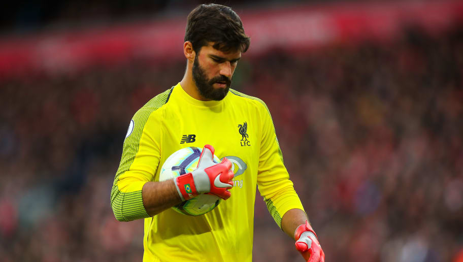 6c0a124f95c David Seaman Claims Rival Premier League Goalkeeper's Distribution Is  Better Than Alisson's