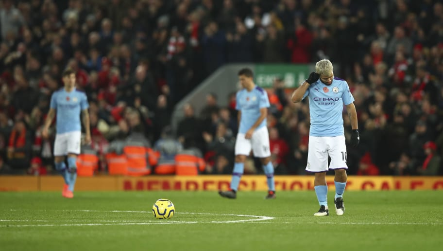 Sergio Agüero's Record at Anfield Makes for Grim Reading Following Man City's Loss to Liverpool