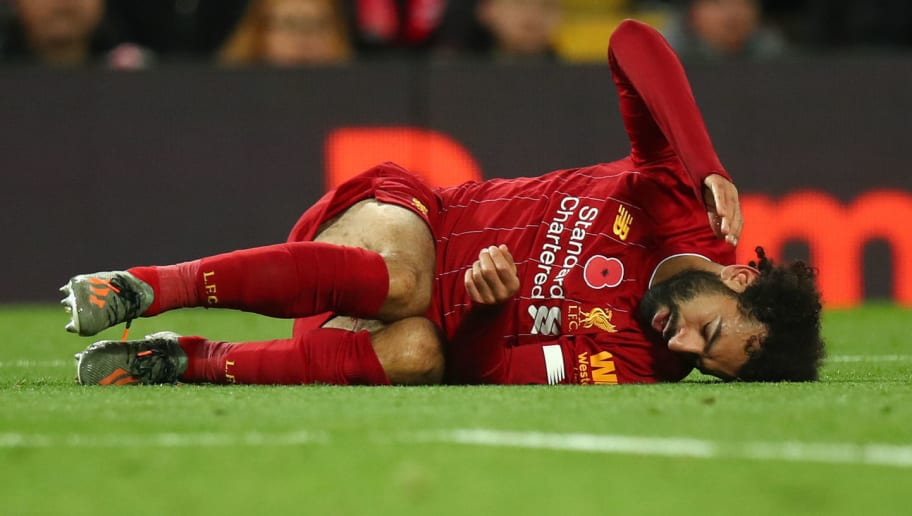 Liverpool Receive Update on Severity of Mohamed Salah's Ankle Injury