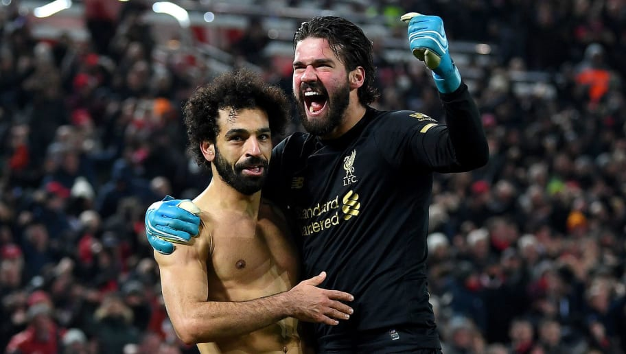 Mohamed Salah,Alisson Becker