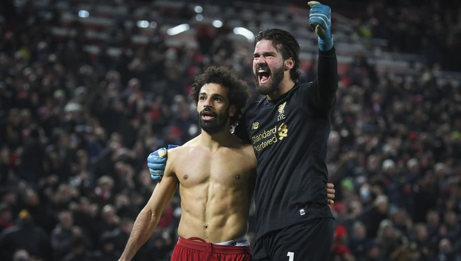 Alisson Becker,Mohamed Salah