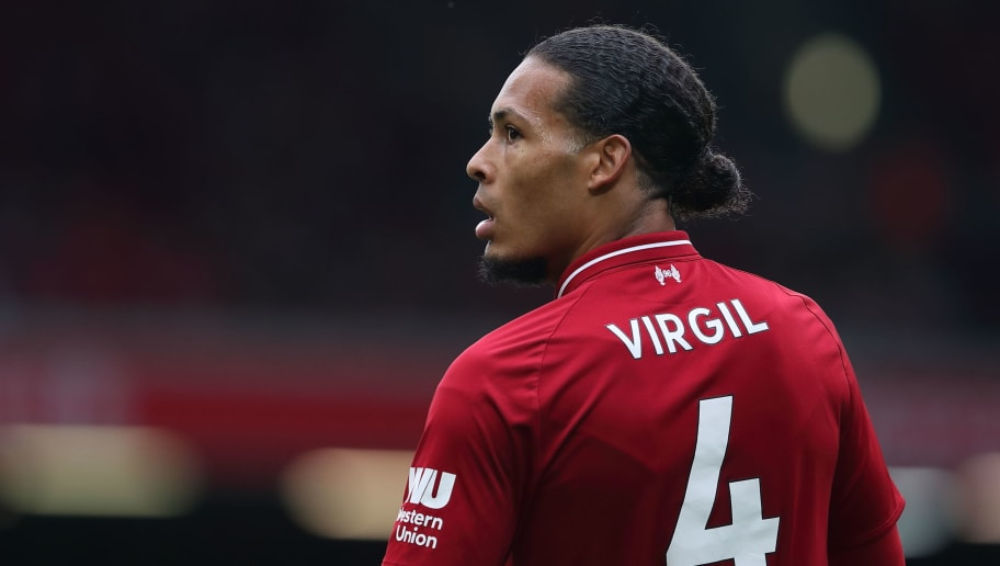 LIVERPOOL, ENGLAND - SEPTEMBER 22: Virgil van Dijk of Liverpool during the Premier League match between Liverpool FC and Southampton FC at Anfield on September 22, 2018 in Liverpool, United Kingdom. (Photo by James Williamson - AMA/Getty Images)