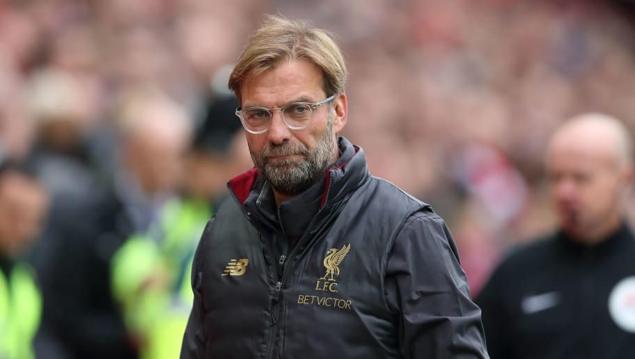 LIVERPOOL, ENGLAND - SEPTEMBER 22: Liverpool manager \ head coach Jurgen Klopp during the Premier League match between Liverpool FC and Southampton FC at Anfield on September 22, 2018 in Liverpool, United Kingdom. (Photo by James Williamson - AMA/Getty Images)