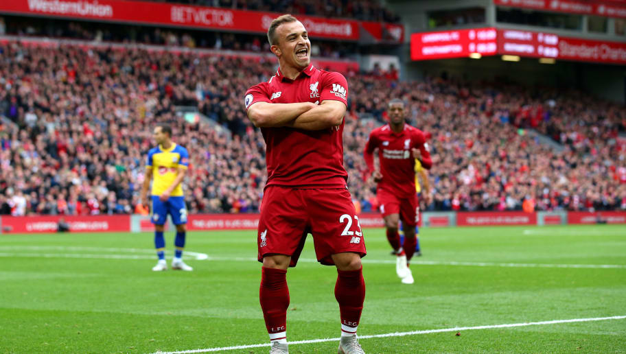 Image result for Liverpool shaqiri