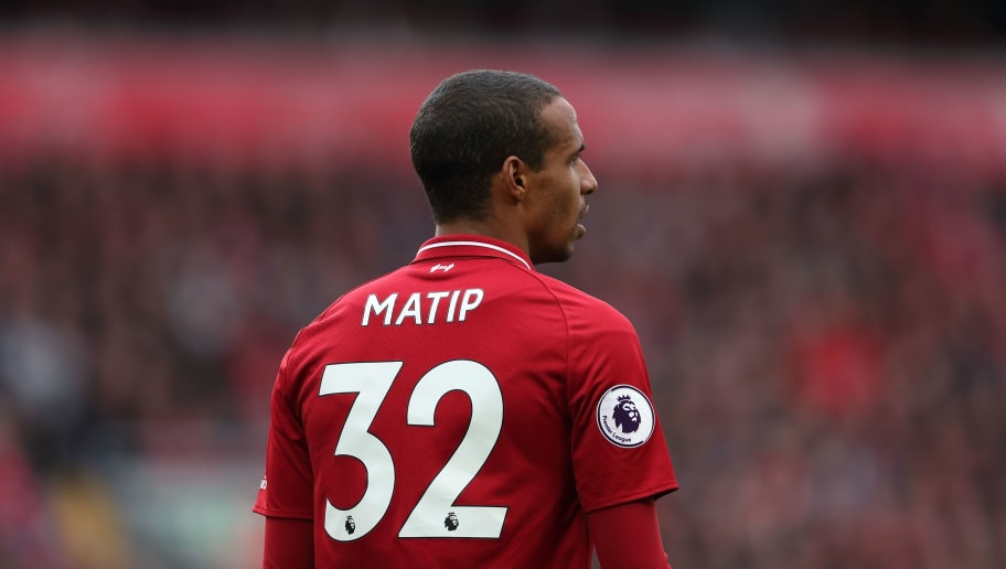 LIVERPOOL, ENGLAND - SEPTEMBER 22: Joel Matip of Liverpool during the Premier League match between Liverpool FC and Southampton FC at Anfield on September 22, 2018 in Liverpool, United Kingdom. (Photo by James Williamson - AMA/Getty Images)