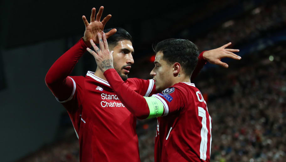 Emre Can,Philippe Coutinho