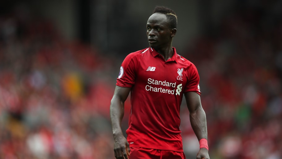LIVERPOOL, ENGLAND - AUGUST 12: Sadio Mane of Liverpool during the Premier League match between Liverpool FC and West Ham United at Anfield on August 12, 2018 in Liverpool, United Kingdom. (Photo by Robbie Jay Barratt - AMA/Getty Images)