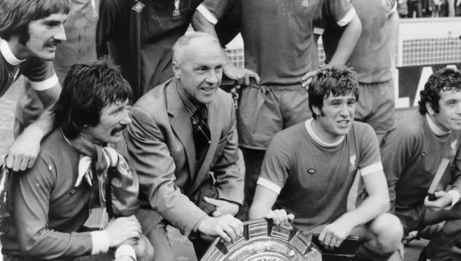 Tommy Smith,Bill Shankly,Emlyn Hughes,Ian Callaghan
