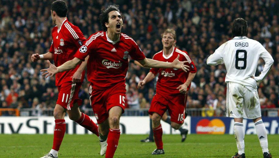 Liverpool's Israeli midfielder Yossi Ben