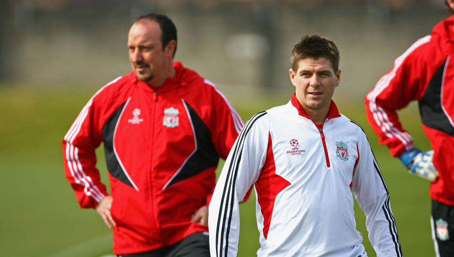 Rafael Benitez,Steven Gerrard
