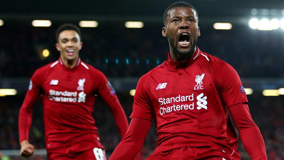 Georginio Wijnaldum Insists Liverpool 'Deserve' UCL Trophy After Impressive Premier  League Season | ht_media