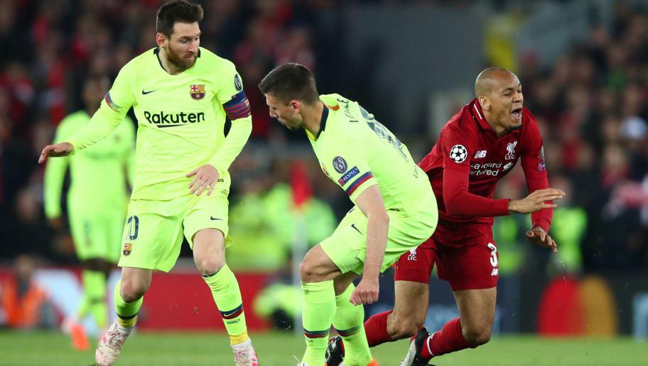 Fabinho,Lionel Messi,Clement Lenglet