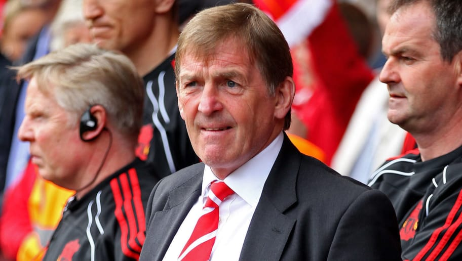 LIVERPOOL, ENGLAND - APRIL 23:  Liverpool Manager Kenny Dalglish looks on prior to the Barclays Premier League match between Liverpool and Birmingham City at Anfield on April 23, 2011 in Liverpool, England.  (Photo by Clive Brunskill/Getty Images)