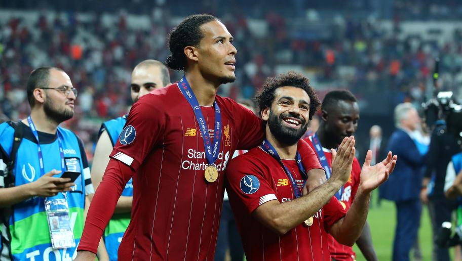 Virgil van Dijk,Mohamed Salah