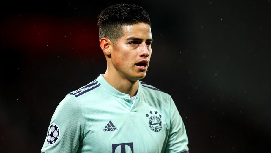 45b6f8f425a James Rodriguez Opens Door to Real Madrid Return After 2-Year Bayern ...