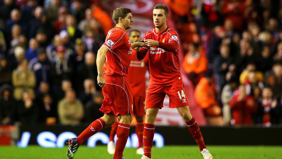 Jordan Henderson,Steven Gerrard