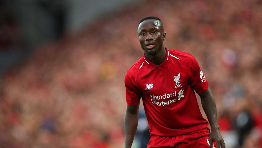 LIVERPOOL, ENGLAND - AUGUST 07: Naby Keita of Liverpool during the pre-season friendly between Liverpool and Torino at Anfield on August 7, 2018 in Liverpool, England. (Photo by Robbie Jay Barratt - AMA/Getty Images)