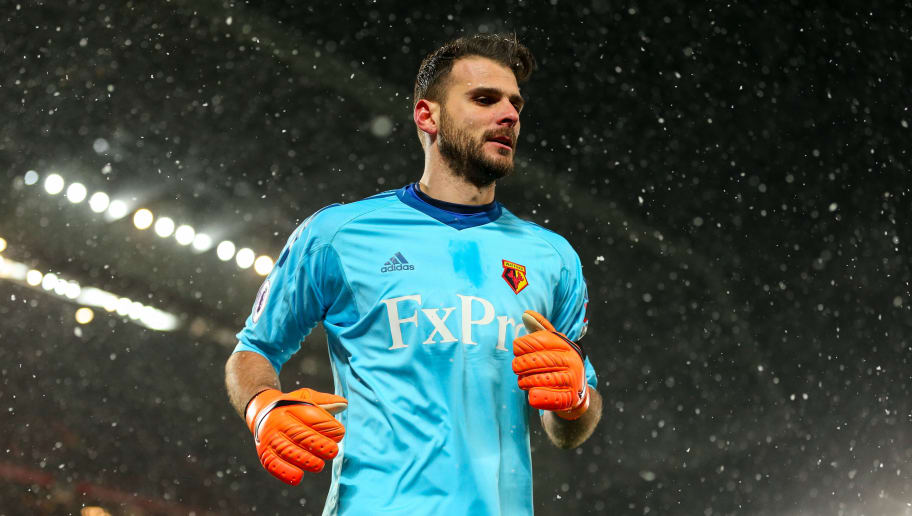 Napoli Confirm Signing of Former Watford Goalkeeper Orestis Karnezis From  Udinese dbb2e106b