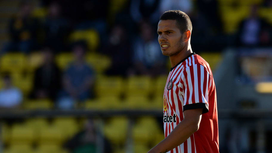 LIVINGSTON, SCOTLAND - JULY 12: Jack Rodwell of Sunderland in action during the pre season friendly between Livingston and Sunderland at Almondvale Stadium on July 12, 2017 in Livingston, Scotland. (Photo by Mark Runnacles/Getty Images)