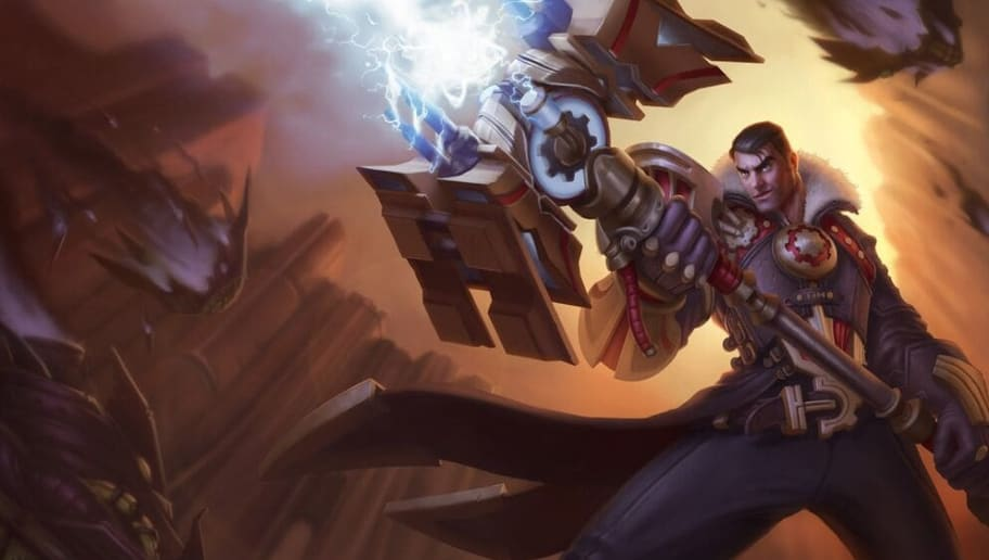 Jayce is one of four new champions in Teamfight Tactics