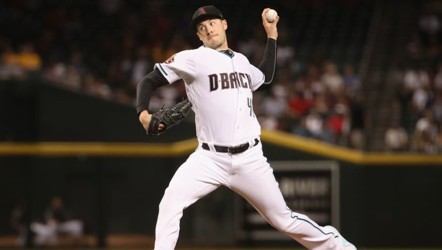 PHOENIX, AZ - AUGUST 21:  Starting pitcher Patrick Corbin #46 of the Arizona Diamondbacks pitches against the Los Angeles Angels during the first inning of the MLB game at Chase Field on August 21, 2018 in Phoenix, Arizona.  (Photo by Christian Petersen/Getty Images)