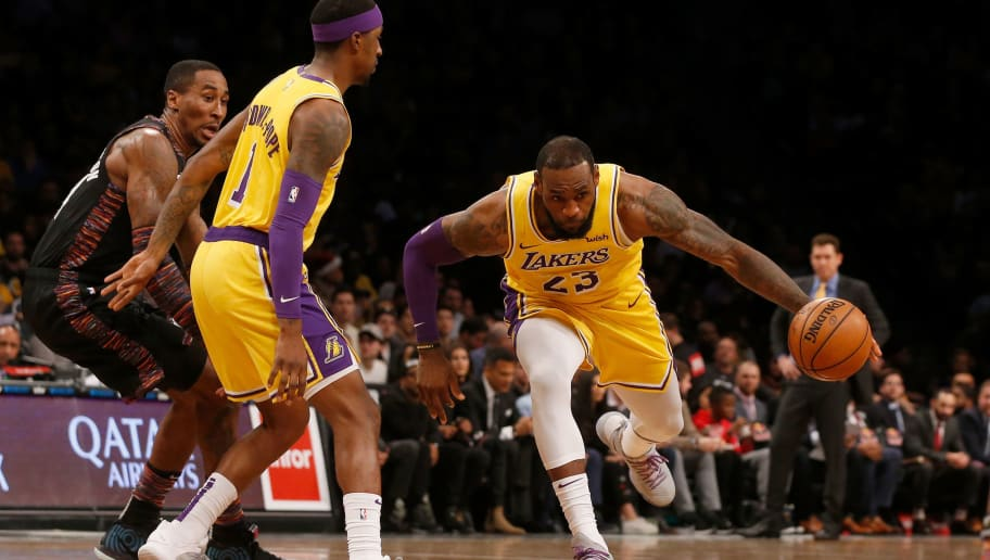 b8f2229bb0b REPORT  Lakers Preparing for LeBron to Miss Several Games With   Significant  Groin Strain