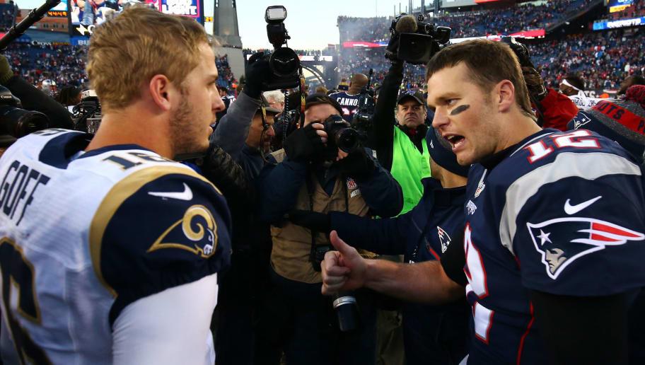 Tom Brady,Jared Goff