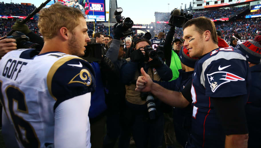 Tom Brady,Jared Goff