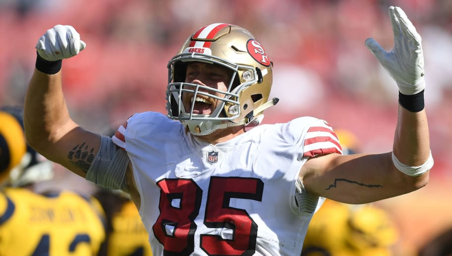9ef1bdaf9 George Kittle Has His Fantasy Owners in Mind While Playing