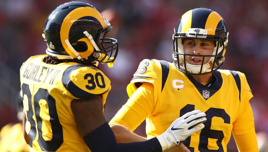 Jared Goff,Todd Gurley