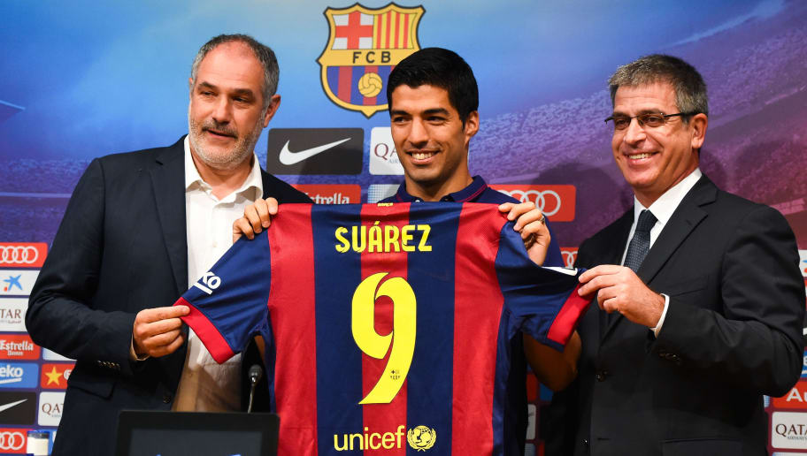 El Pistolero: OTD in 2014 Barcelona Gambled on Luis Suarez - And