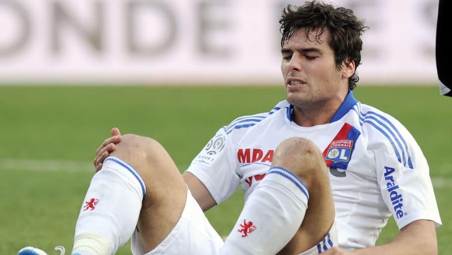 Lyon's French midfielder Yoann Gourcuff