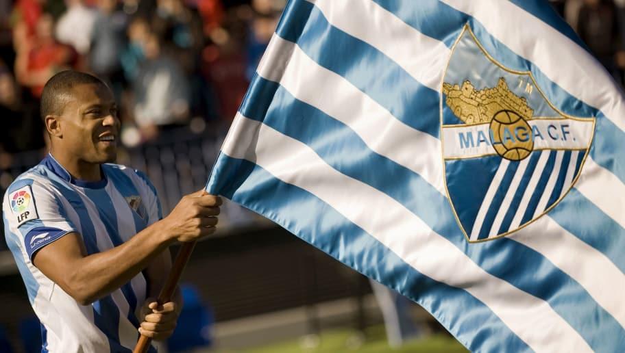 Malaga CF's Brazilian new forward Julio