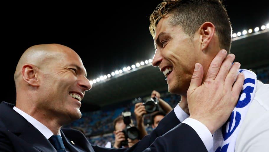 Zinedine Zidane,Cristiano Ronaldo