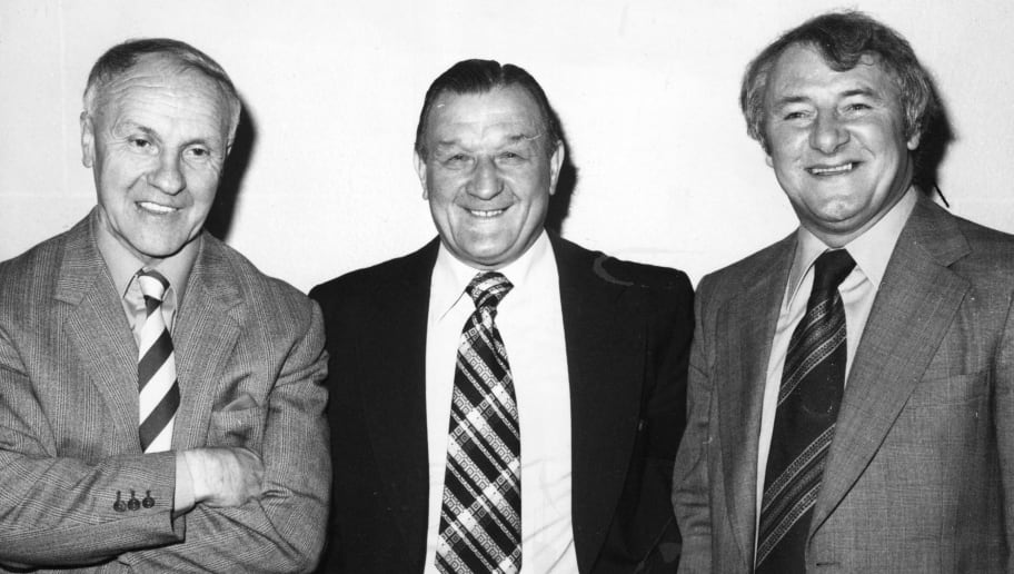 Bill Shankly,Bob Paisley,Tommy Docherty