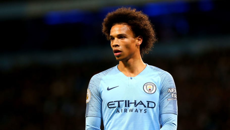 MANCHESTER, ENGLAND - DECEMBER 01: Leroy Sane of Manchester City in action during the Premier League match between Manchester City FC and AFC Bournemouth at Etihad Stadium on December 1, 2018 in Manchester, United Kingdom. (Photo by Chloe Knott - Danehouse/Getty Images)